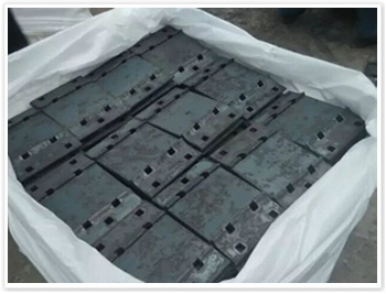Rail tie plate by rolling